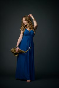JazzSaxophonistin